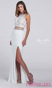 price gold sheer beaded prom dress jvn jovani