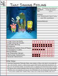 That Sinking Feeling Spongebob Full Episode by That Sinking Feeling Spongebob Best Sink 2017