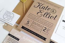 Wedding Invitations On Kraft Paper Quality Archives With Confession Of A