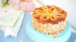 schnelle einfache mailänder marzipantorte marzipankuchen lange haltbar ohne sahne kuchenfee