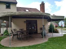 Round Fabric Patio Awning | Custom Covers And Canvas Deck Porch Patio Awnings A Hoffman Diy Luxury Retractable Awning Ideas Chrissmith Houston Tx Rv For Homes Screens 4 Less Shades Innovative Openings Gallery Of Residential Asheville Nc Air Vent Exteriors Best Miami Place
