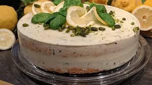 wir in bayern rezepte zitronen buttermilch torte mit basilikum