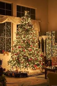 Christmas Tree Train Set Go Around Decor Inspirations
