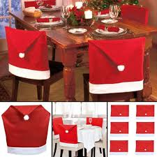 Wholesale Solutions Ltd - Santa Hat Dining Chair Covers Christmas Party  Xmas Table Decoration (10) Chair Covers And Sashes Buy Patio Fniture Waterproof For Ding Whosale Interiors Baxton Studio Lorenzo Side Short Cover For Chairs Frasesdenquistacom X Back Ding Chairs Most Comfortable Youll Love In 2019 Wayfair Nilkamal Sale Area Prices Brands 20 New Design Fabric Seat Table Luxury 25 Ikea Warranty Scheme Room Bdana Print Slip The Blanket
