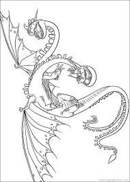 How To Train Your Dragon Coloring Pages 18