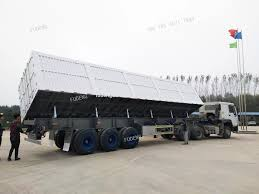 100 Side Dump Truck Durable 4 Axles Side Dump Semi Trailer 85cbm Tipper Truck Trailer View 4 Axles Side Dump Semi Trailer Shandong Fudeng Product Details From
