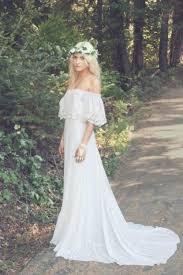 Boho Bride Chic Style Wedding Inspired Dresses Bridal Look Flower Crowns