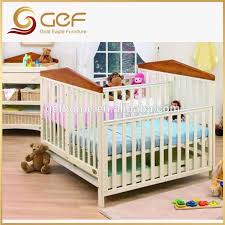 Twins Babies Wooden Crib Baby Cot Bed For GEF BB 106