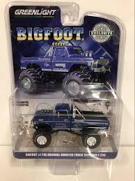 100 Bigfoot Monster Truck Toys 1974 Ford F250 1979 Blue 164 Greenlight 29934