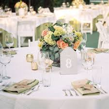 Rustic Table Decor No Plates Perfect Set Up For Buffet Style Wedding