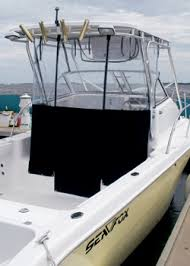 Isinglass Curtains Center Console by T Top Curtains Recommendations The Hull Truth Boating And