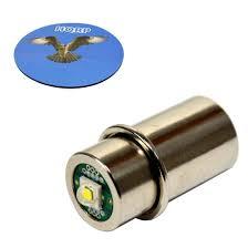 hqrp high power 3w led bulb for maglite 3d 4d 5d 6d 3c 4c 5c 6c
