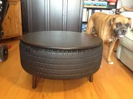 Recycled Tire Coffee Table: 10 Steps (with Pictures)