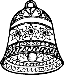 Christmas Clock Coloring Pages