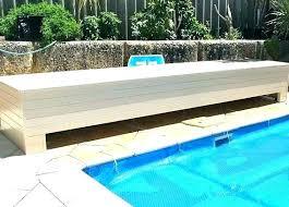 Pool Cover Storage Ideas Winter Outdoor Diy Pump Ide