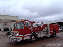 100 Blue Fire Trucks Used Spartan RS202042 Fire Trucks Year 1984 Price US 21750 For