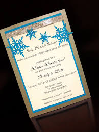 Handmade Winter Wonderland Invitations By SouthernRoseDesign 2750
