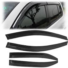 Car Window Visor Rain Guard Sun Visor Vent Shade Wind Deflector For ... How To Install Rain Guards Inchannel And Stickon Weathertech Side Window Deflectors In Stock Avs Color Match Low Profile Oem Style Visors Cc Car Worx Visor For 20151617 Toyota Camry Wv Amazoncom Black Horse 140660 Smoke Guard 4 Pack Automotive Lund Intertional Products Ventvisors And 2014 Jeep Patriot Cars Sun Wind Deflector For Subaru Outback Tapeon Outsidemount Shades Front Door Best Of Where To Find Vent 2015 2016 2017 Set Of 4pcs 1418 Silverado Sierra Crew Cab Shade