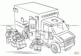 Intellect Lego Moto Police Coloring Page Free Printable