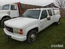1994 GMC SIERRA PICKUP TRUCK V... Auctions Online | Proxibid Gmc Sierra 1500 Questions How Many 94 Gt Extended Cab Used 1994 Pickup Parts Cars Trucks Pick N Save Chevrolet Ck Wikipedia For Sale Classiccarscom Cc901633 Sonoma Found Fuchsia 1gtek14k3rz507355 Green Sierra K15 On In Al 3500 Hd Truck Sle 4x4 Extended 108889 Youtube Kendale Truck 43l V6 With Custom Exhaust Startup Sound Ive Got A Gmc 350 It Runs 1600px Image 2