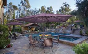 Patio Set Umbrella Walmart by Garden Design Have A Gorgeous Garden Treasures Offset Umbrella