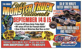 24th Annual Dixie Fall Monster Truck Nationals @ Dixie Speedway ...