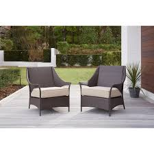 Cosco Lakewood Isle Outdoor Living Patio Lounge Chair - Set Of 2 St Kitts Lounge Chairs Set Of 2 Panama Jack Key Biscayne Antique And Brown Outdoor Chair Set With Ottoman Piece Walker Edison Fniture Company Removable Cushions Wood Patio Gray 2pack Telescope Casual Larssen Cushion Swivel Rocker Side Table Abbots Court Cosco Alinum Chaise Costway 3 Wicker Rattan Steel Black Latvia Midcentury Ottoman By Corvus Priest Calvin Hee From Hay Chairset Blue