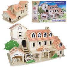 Half Scale Van Buren Dollhouse Kit