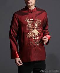 red dragon stylish kung fu men u0027s blazer padded jacket shirt 100