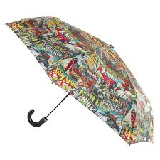 Shed Rain Umbrella Amazon by This Marvel Comic Book Print Umbrella Is A Really Fun Way To