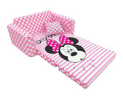 Marshmallow Flip Open Sofa Disney Princess by Disney Minnie Mouse Flip Out Sofa Bed Image Fatare Com