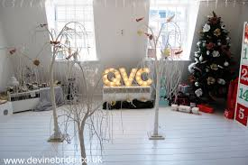 Qvc Christmas Trees Uk by Winter Wedding Décor With Qvc Devine Bride