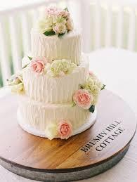 Top 15 Real Flower Rustic Wedding Cake Designs
