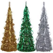 75 Pre Lit Christmas Tree Walmart by 5 Ft Pop Up Christmas Tree Christmas Lights Decoration