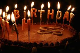 unique birthday cake candles