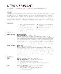 Sample Resume For Restaurant Server With No Experience Waitress