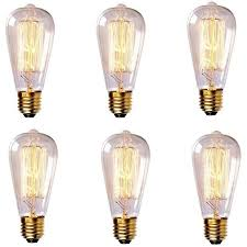 newhouse lighting 60w st64 vintage incandescent edison light bulb