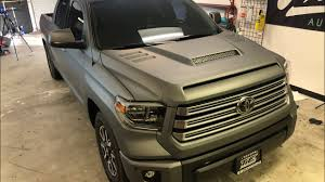 HOW TO VINYL WRAP A TRUCK! 2018 Toyota TUNDRA. - YouTube