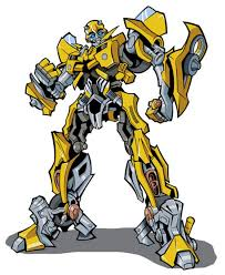 Bumblebee Transformer Clip Art Color Pages