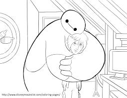 Disneys Big Hero 6 Coloring Pages Sheet Free Disney Printable Color Page
