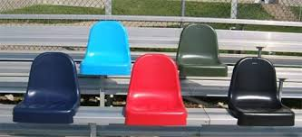 Stadium Chairs For Bleachers With Arms by Stadium Seating Arena Seats Preferred Seating