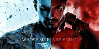 Captain America Vs Iron Man Check Out The Promotional Art For Civil War