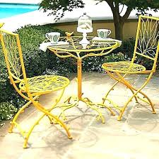 Modern Outdoor Cafe Table Outside Bistro And Chairs Small Innovative