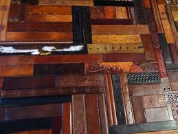 Id Have My Floors Covered With Vintage Leather Belts Xpost From R Floorgasm