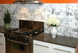 blue and white tile backsplash subway tile white kitchen creative