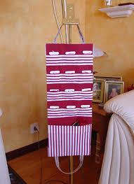 sac à échevettes à suspendre patron couture gratuit