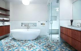 Wallpaper Trends For Bathrooms Creative Wall Covering From To More Wood Planks Putting Color Pattern And Texture On The Is Hot New Thing