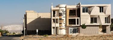 100 Travertine Facade Travertine Building In Mahallat Iran Is Decorated By Brick