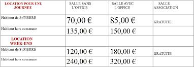 tarif salle des fetes la salle des fêtes mairie de d amilly