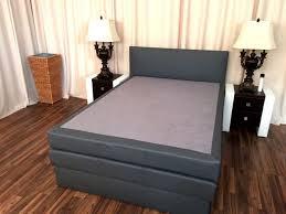 boxspringbett schlafzimmerbett salerna 200x200 cm inkl bettkasten